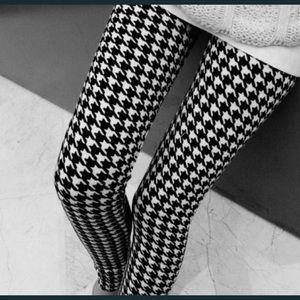 Pants - Houndstooth Legging s/m